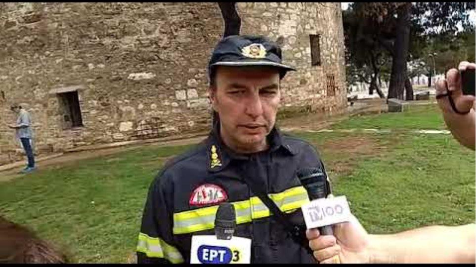 Δήλωση αρχηγού πυροσβεστικής Θεσσαλονίκης