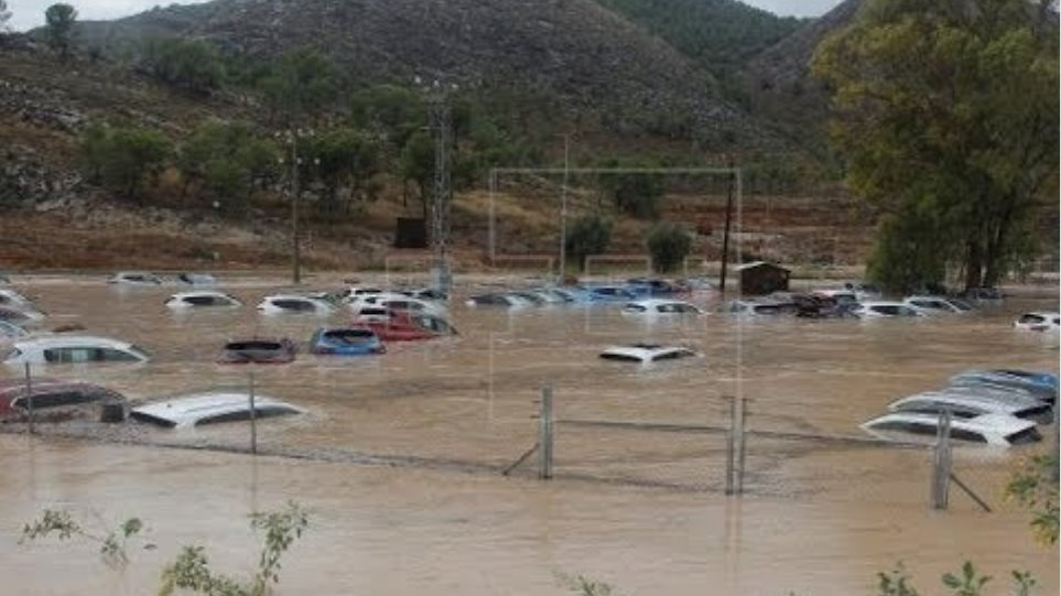 Extreme rainfall triggers flooding in parts of Spain, Sep. 12, 2019