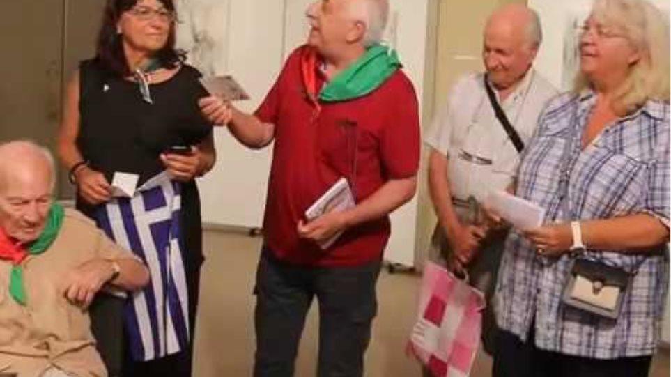 Ο Δήμος Κεφαλονιάς τίμησε τον τελευταίο επιζώντα της Ιταλικής Μεραρχίας Άκουι Giuseppe Benincasa