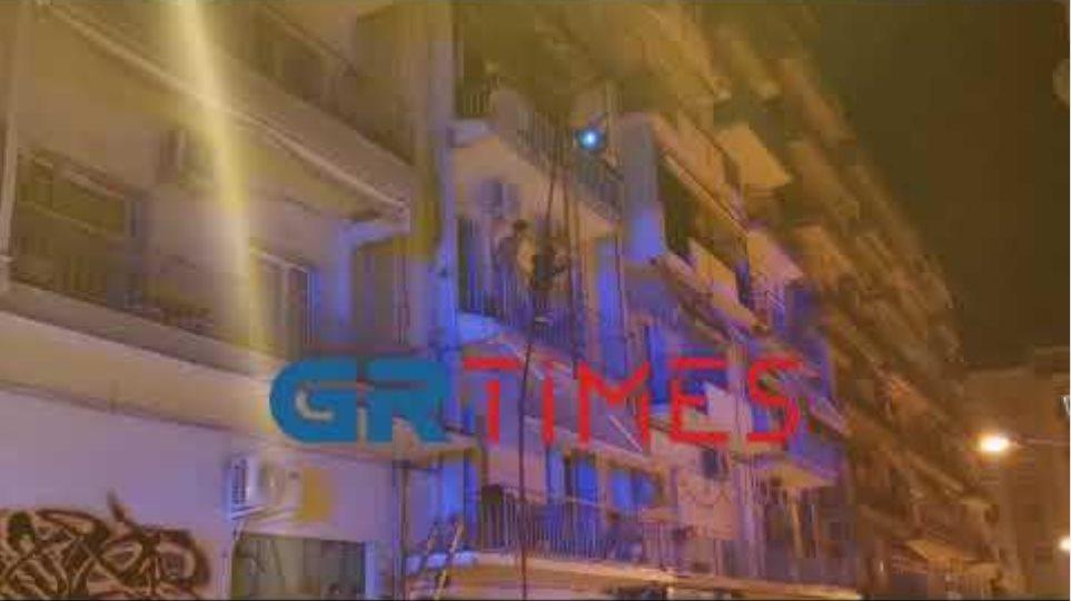 Φωτιά Θεσσαλονίκη - GRTimes.gr