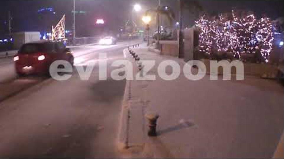 EviaZoom.gr: «Ντύθηκε» στα λευκά η Χαλκίδα (08-01-2019)