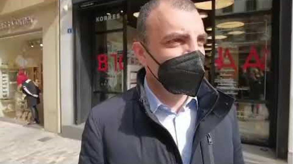 Βίντεο δήλωση Ο αντιπρόεδρος εμπορικού συλλόγου Αθήνας