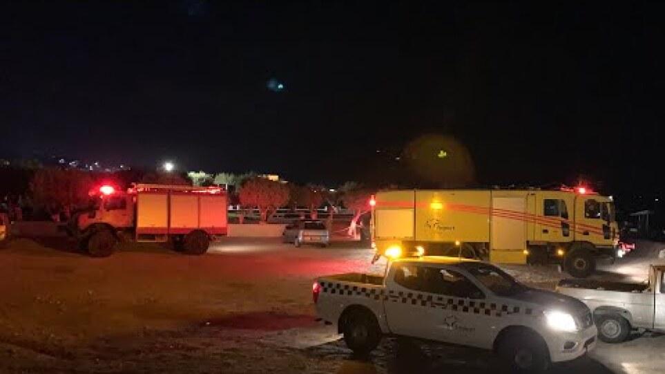 Έκτακτο Πτώση Αεροπλάνου Στη Σάμο Small plane crashes in Samos