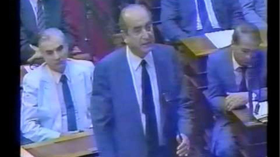 Μητσοτάκης στη Βουλή για τη δολοφονία του Παύλου Μπακογιάννη
