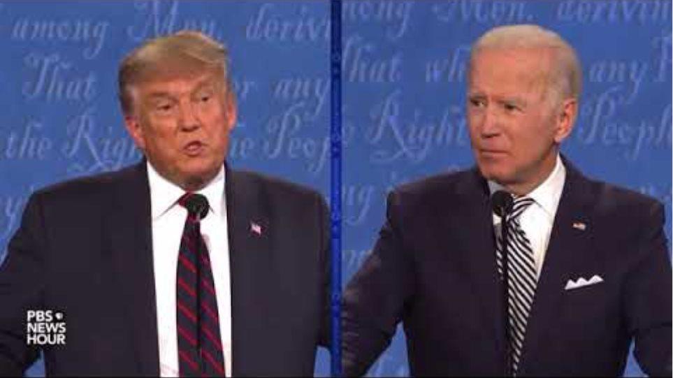 Trump calls Biden dumb