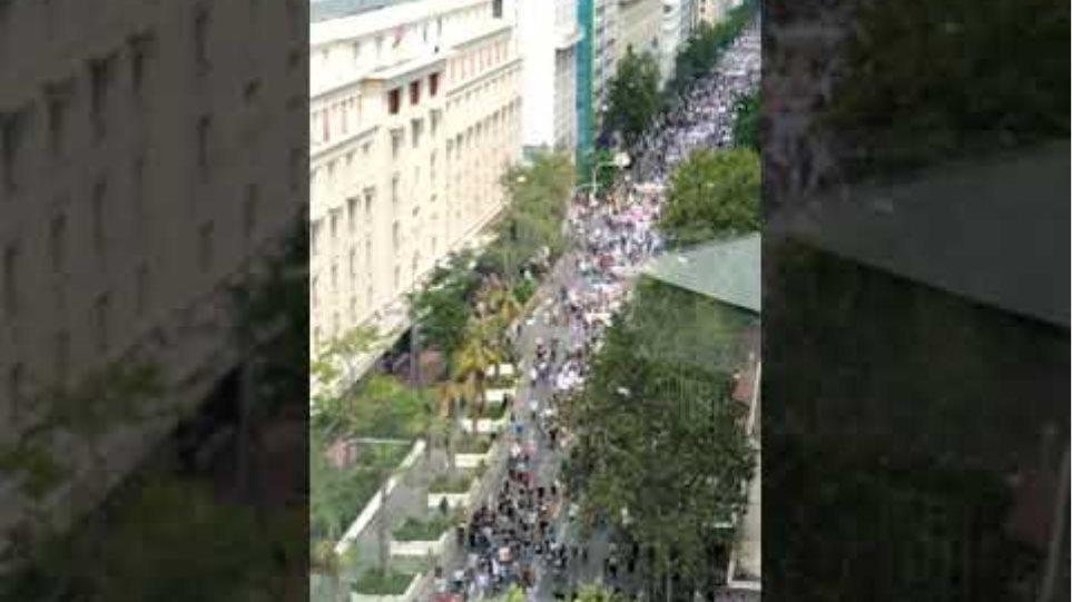 Τωρα Τεράστια Συγκέντρωση στην Αθήνα-Το νομοσχέδιο έκτρωμα να μείνει στα χαρτιά