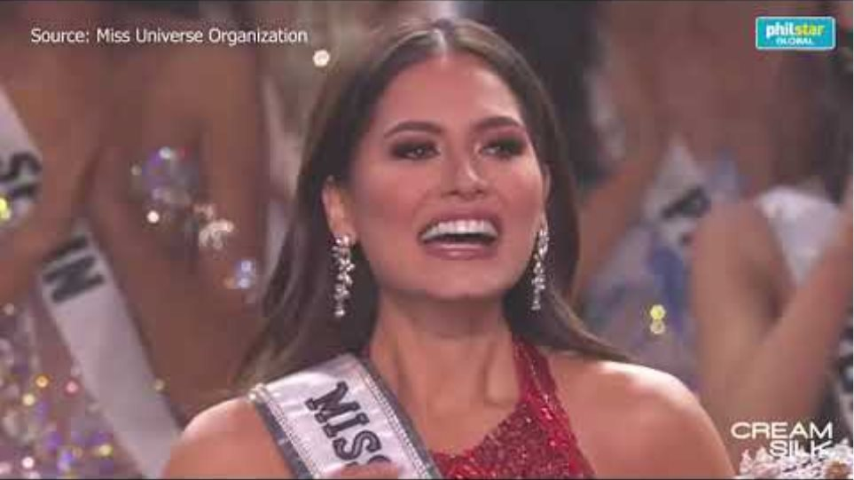 Mexico's Andrea Meza crowned as Miss Universe 2020