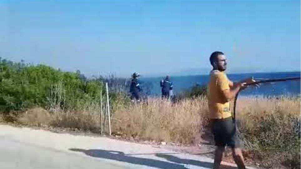 Κεφαλονιά: Πυρκαγιά στη περιοχή Σβωρονάτα