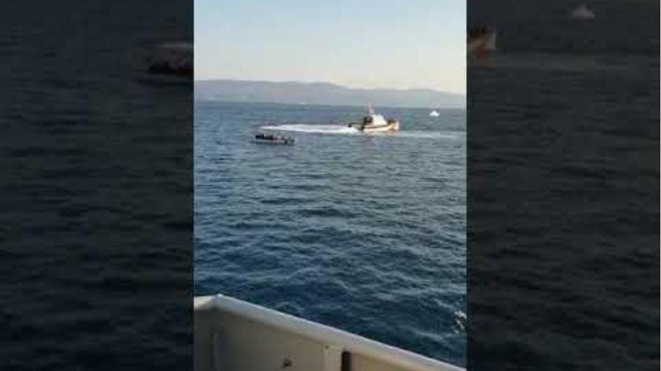 Σειρά περιστατικών με Τουρκικές Ακταιωρούς στη Μυτιλήνη ΙΙ