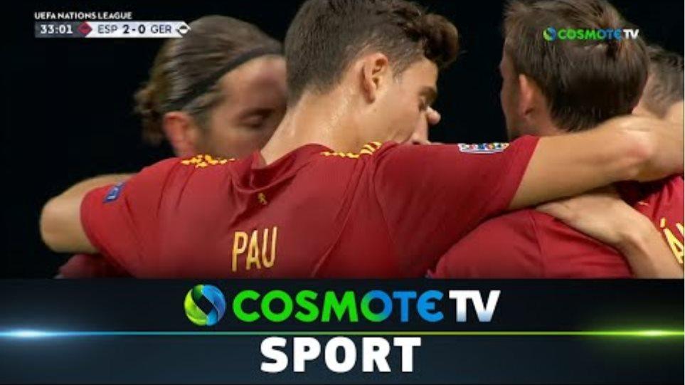 Ισπανία - Γερμανία (6-0) Highlights - UEFA Nations League - 17/11/2020 | COSMOTE SPORT HD