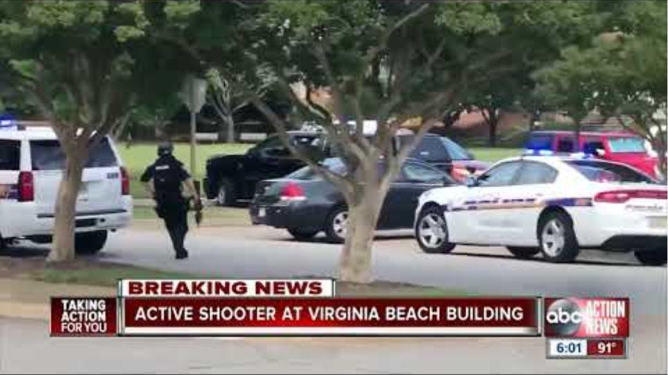 Virginia Beach Police confirms 'active shooter situation'