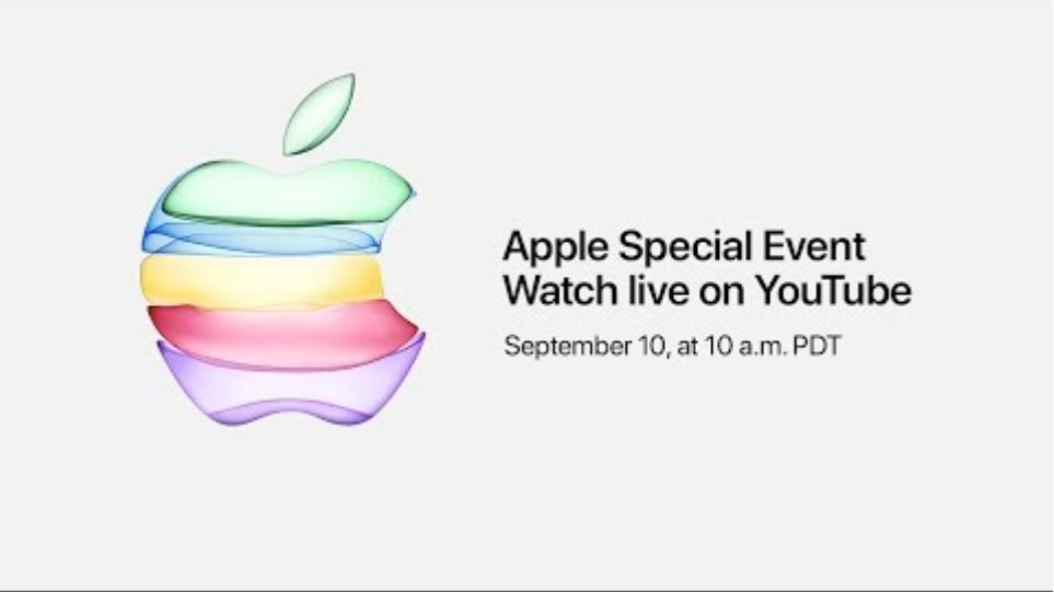 Apple Special Event — September 10, 2019