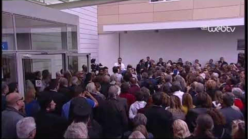 Χαιρετισμός στα εγκαίνια του νέου Νοσοκομείου Λευκάδας