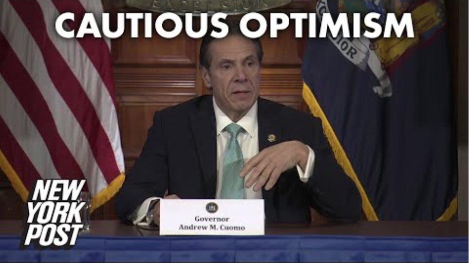 Cuomo: Coronavirus density control measures slow spread in NY | New York Post