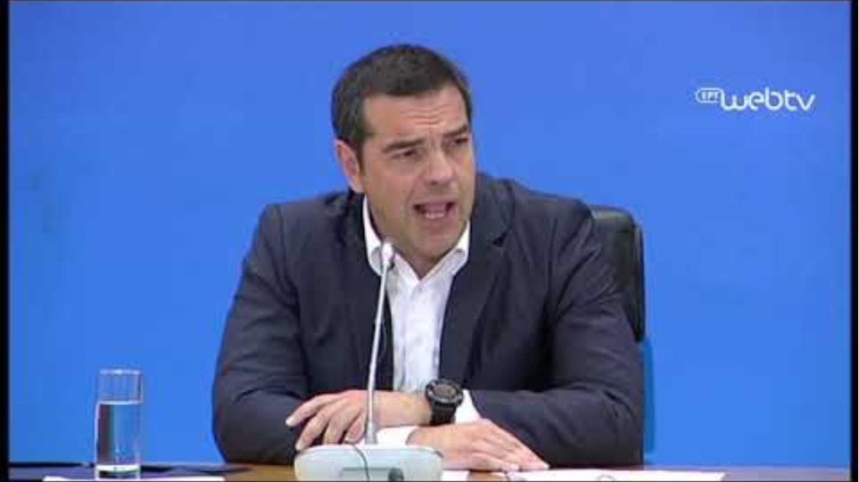 Τσίπρας: Οι πολίτες μας έδωσαν εντολή μετασχηματισμού του κόμματος