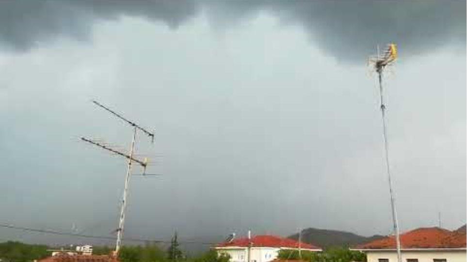 Καταιγίδα Τρίκαλα Αύγουστος 2018