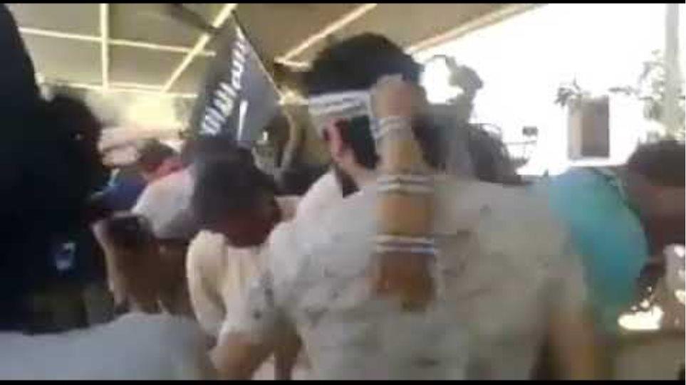 اجرام داعش بحق ابناء عشيرة الشعيطات