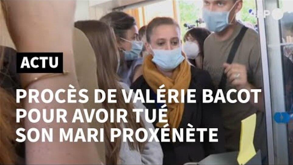 Violée, battue, prostituée, Valérie Bacot jugée pour avoir tuée son mari proxénète   AFP