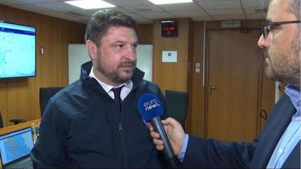 Νίκος Χαρδαλιάς στο euronews: Η διαδικασία ιχνηλάτησης έκανε τη διαφορά στην Ελλάδα…