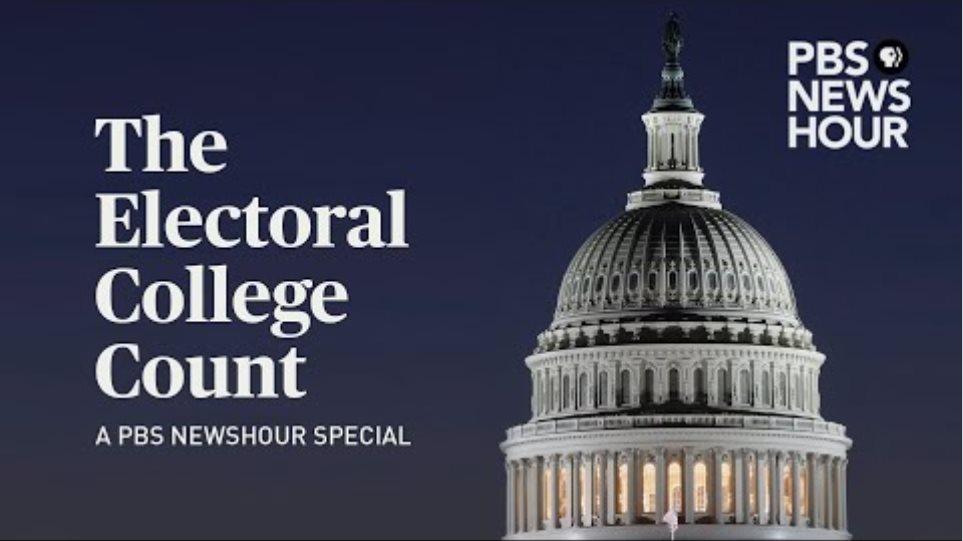 WATCH LIVE: Protestors breach U.S. Capitol, halting Electoral College vote