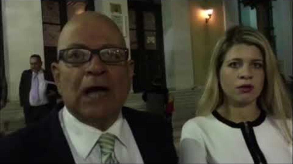 Δηλώσεις Β. Ταουξή, δικηγόρου ενός εκ των κατηγορουμένων