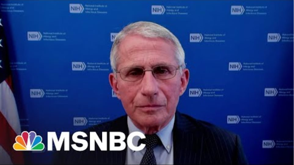 Dr. Fauci: The Covid-19 Pandemic 'Isn't Over Yet'