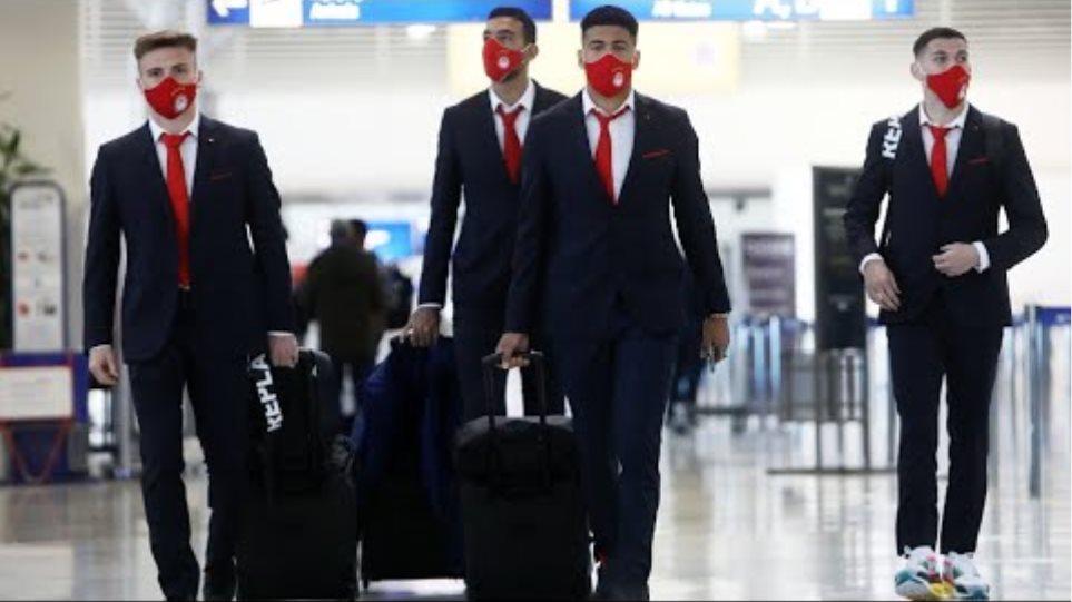 Η πτήση του Ολυμπιακού για το Αϊντχόφεν! / Olympiacos' flight to Eindhoven!
