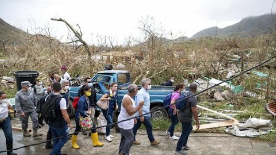 Κεντρική Αμερική: Η καταιγίδα Γιώτα, αφήνει πίσω της νεκρούς, τραυματίες και καταστροφές…