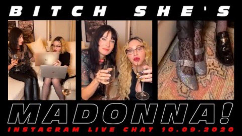 Madonna FULL Instagram Live 10.09.2020