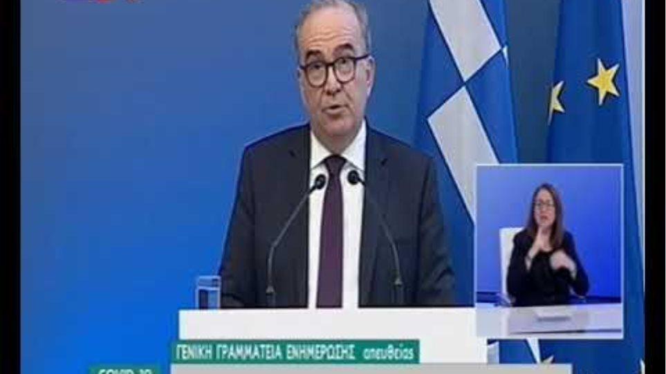 Νίκος Παπαθανάσης: Αναλυτικές οδηγίες για την άρση των περιοριστικών μέτρων