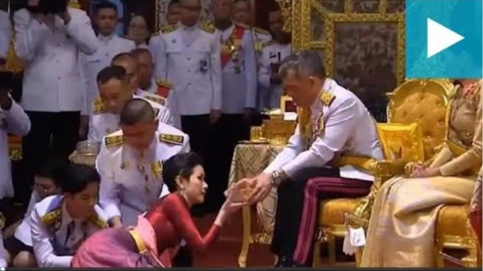 Thailand's king anoints mistress as his royal noble consort