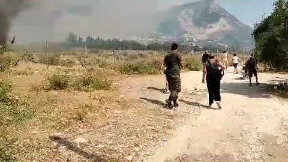 Πάτρα: Φωτιά στο Σούλι