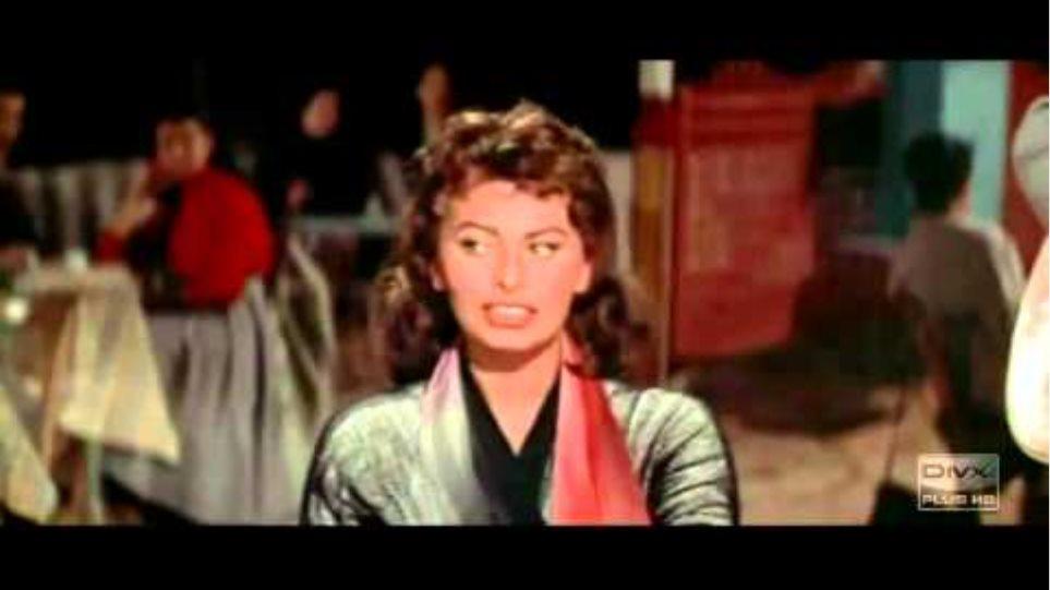Sophia Loren & Tony Maroudas - Sagapo (Ti einai afto pou to lene agapi)