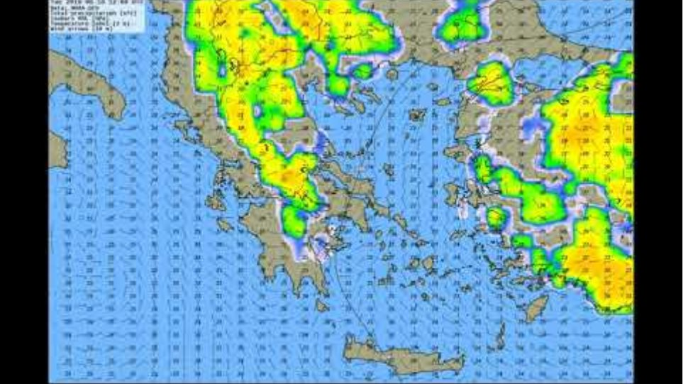 Weekly Weather Forecast for Greece Video from 17 June 2019
