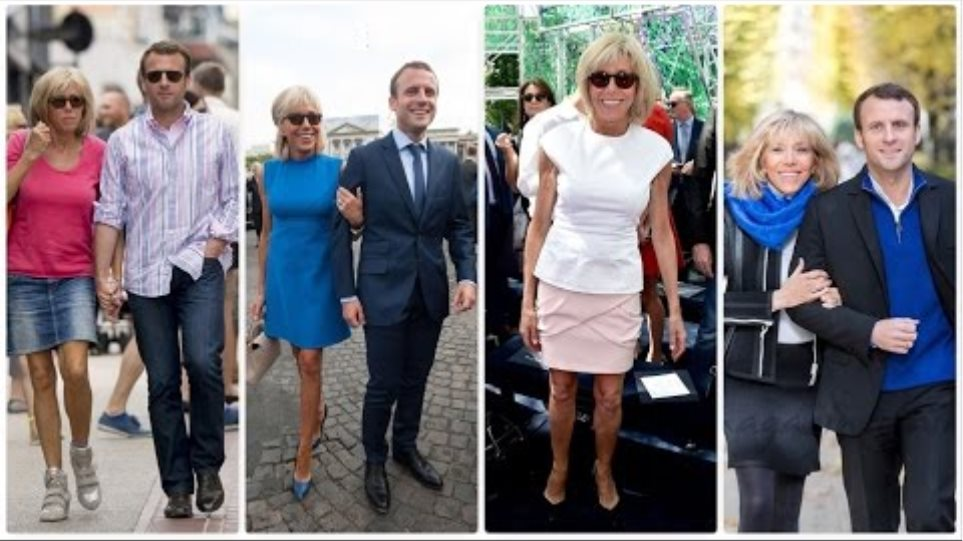 New First Lady of France Brigitte Macron's fashion
