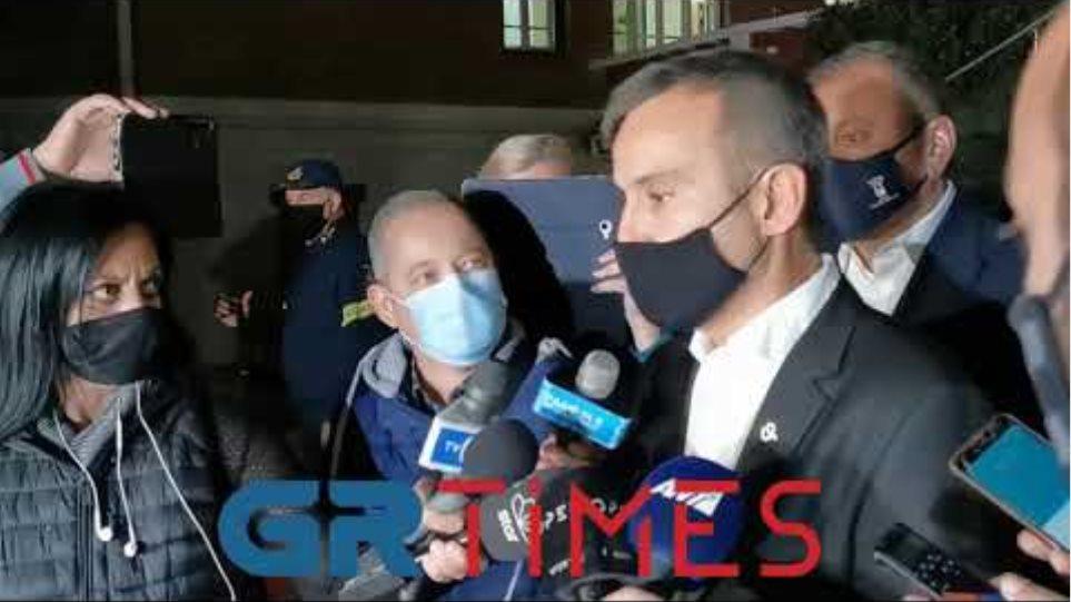 Ζέρβας σύσκεψη με Χαρδαλιά - Δηλώσεις - GRTimes.gr
