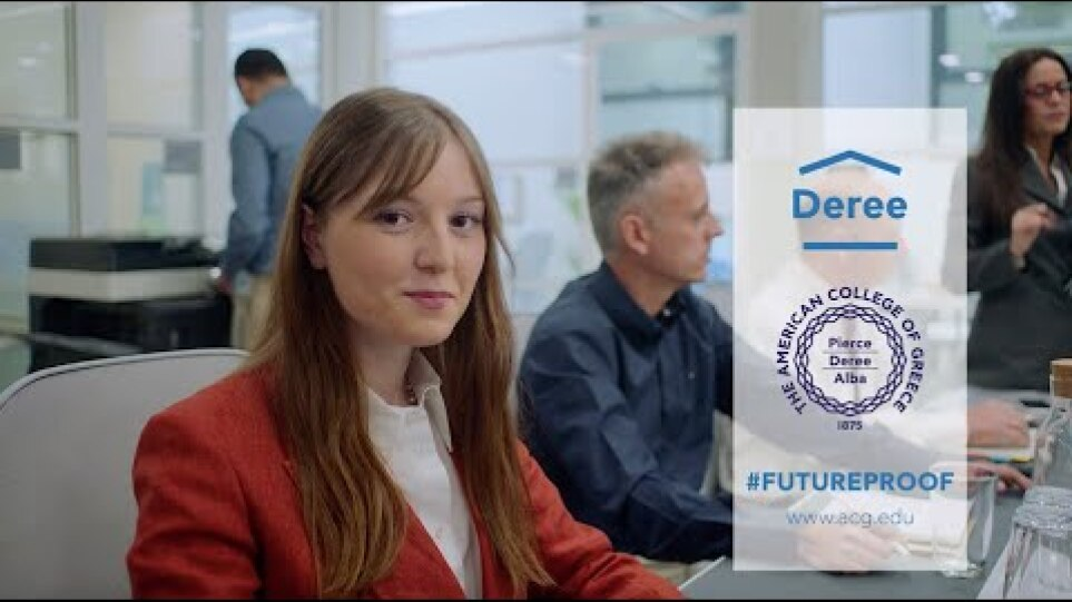 Deree. #Futureproof.