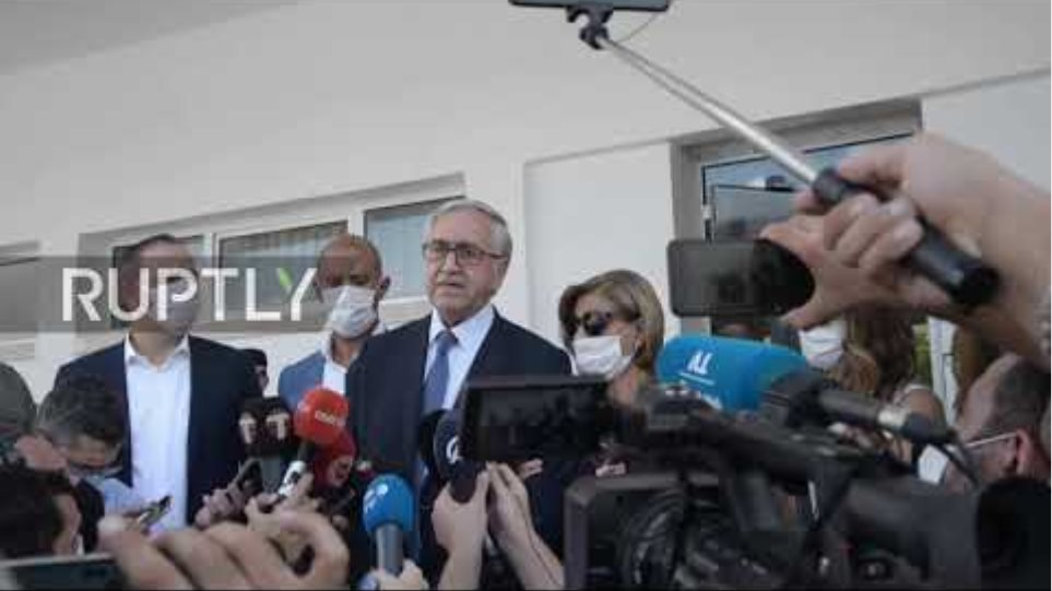 """Northern Cyprus: Turkish Cypriot leader slams Turkish """"propaganda campaign"""" against him as he votes"""
