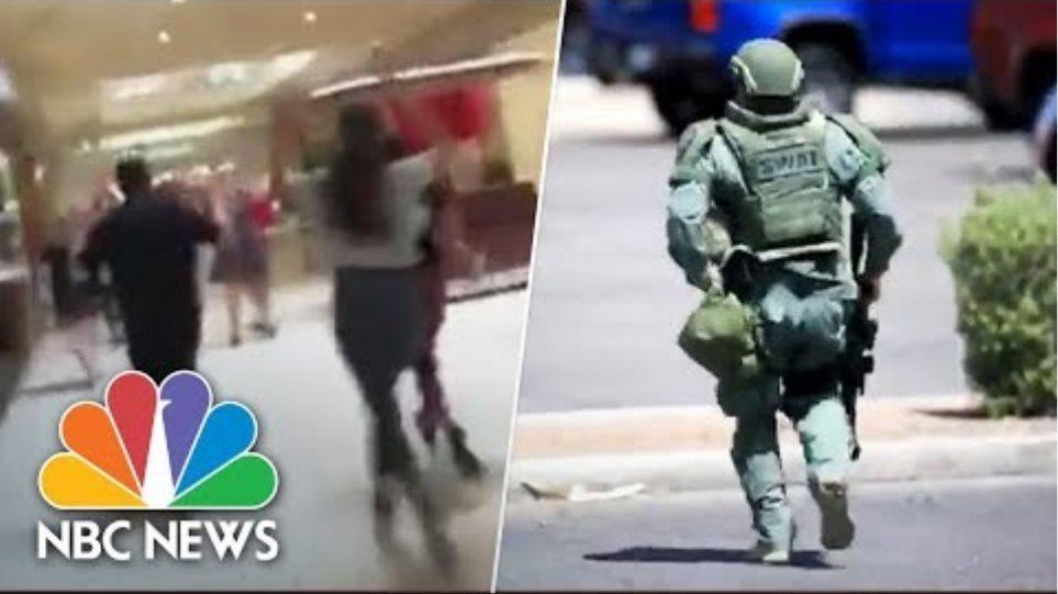 El Paso, Texas, Shooting: Witness Videos Capture Terrifying Scene   NBC News