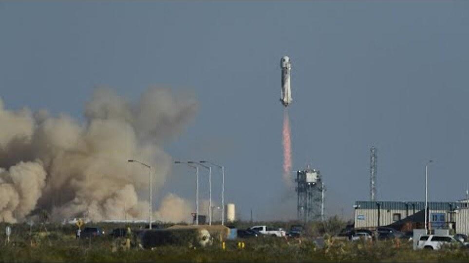 'Star Trek' actor William Shatner blasts off into space
