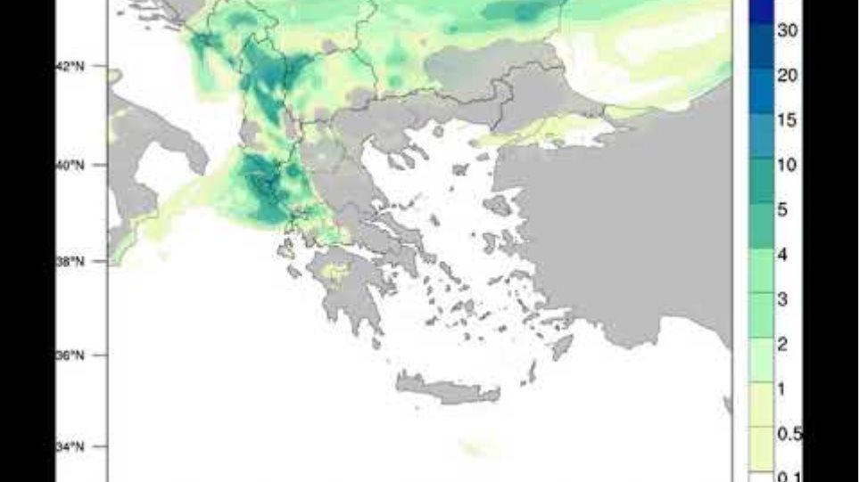 Meteo.gr: 3/12-5/12 2019: Κίνηση αερίων μαζών & εκτίμηση ολικού υετού