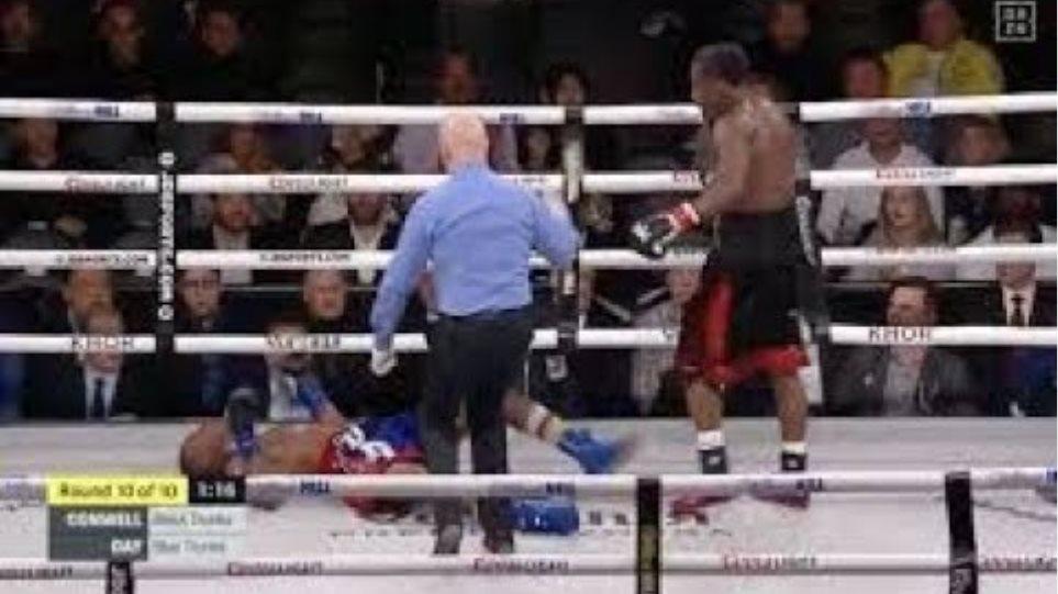 Charles Conwell knocks out Patrick Day VICIOUS KO +3 slo mo's