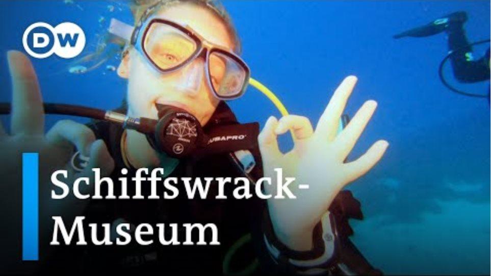 Dive in history - Unterwassertourismus als Zukunftstrend | Euromaxx