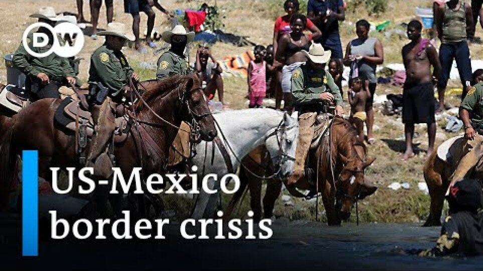 Haitian migrants expelled from US-Mexico border | DW News
