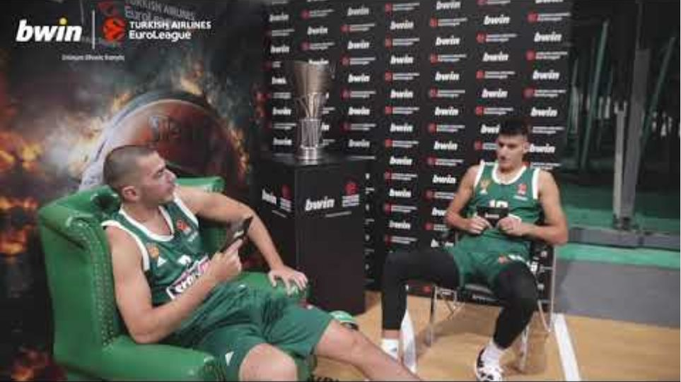 EuroLeague | Backstage από τη Media Day του Παναθηναϊκού