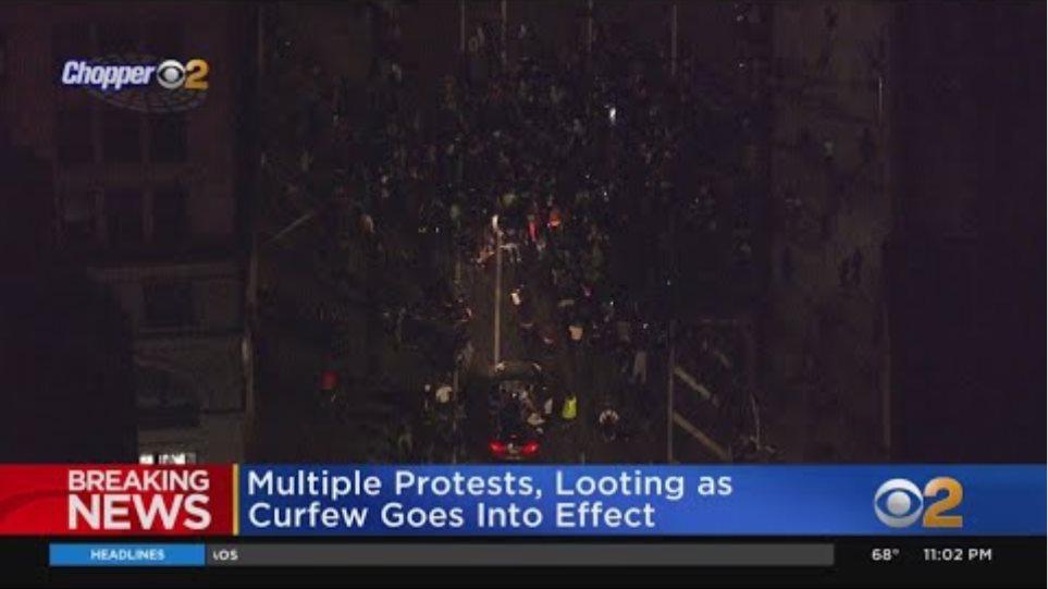 Thousands Ignore New York City's 8 p.m. Curfew