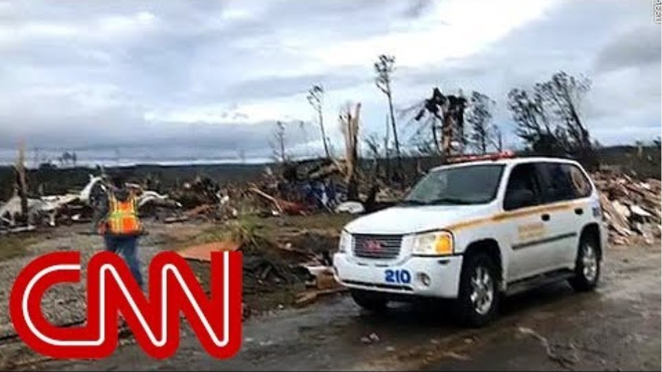 Several dead after tornadoes tear through the South