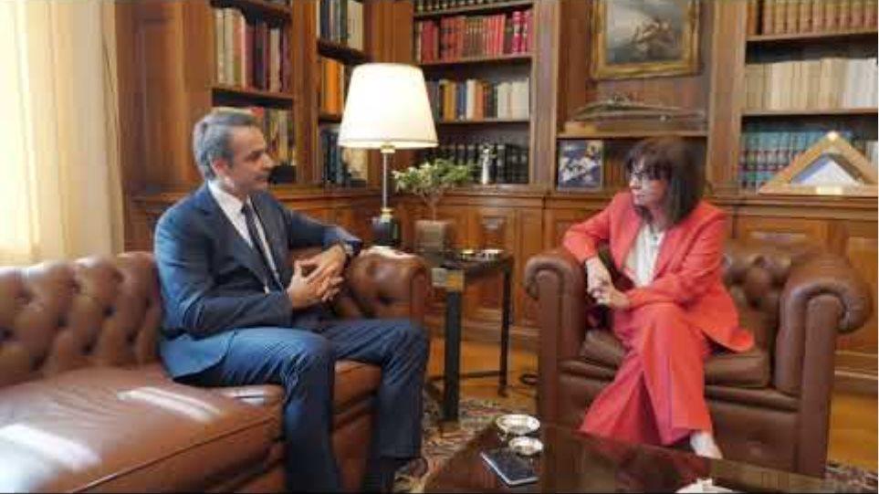 Συνάντηση με Πρόεδρο της Δημοκρατίας , Τετάρτη, 3 Ιουν