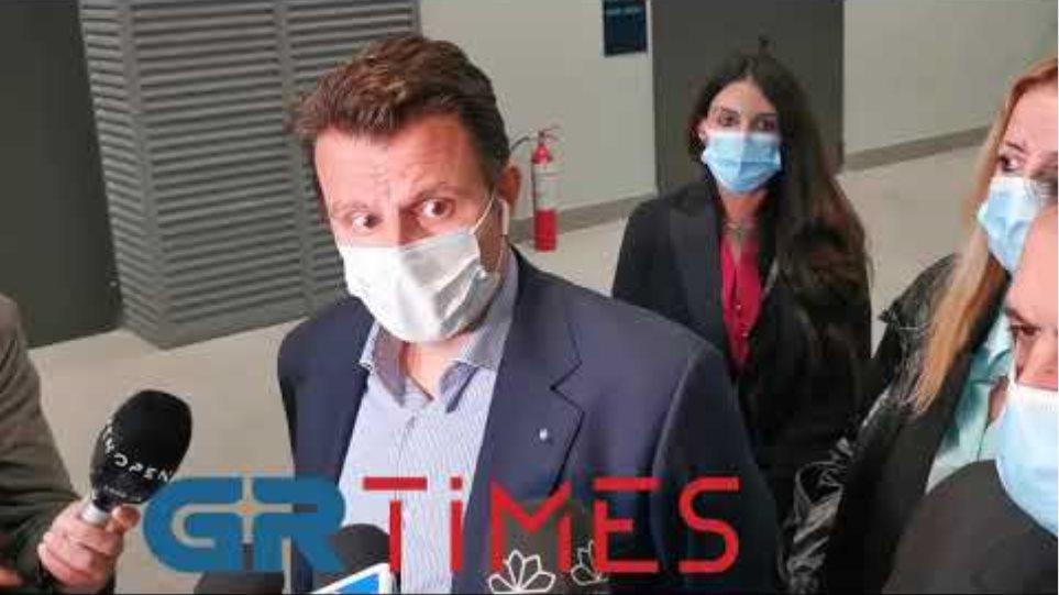 Δηλώσεις Τσαλικακης από αεροδρόμιο - GRTimes.gr