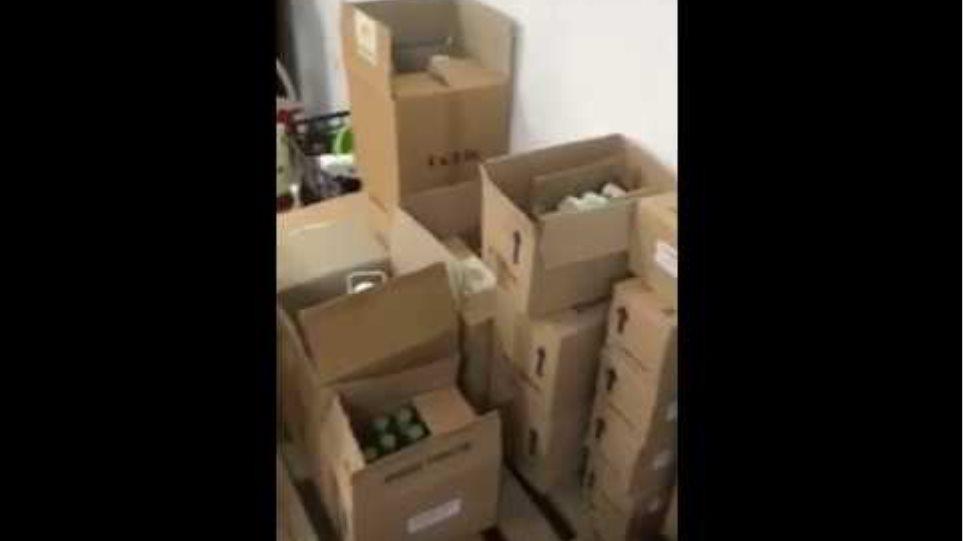 Εντοπισμός παρασκευαστηρίων και αποθηκών αλκοολούχων ποτών